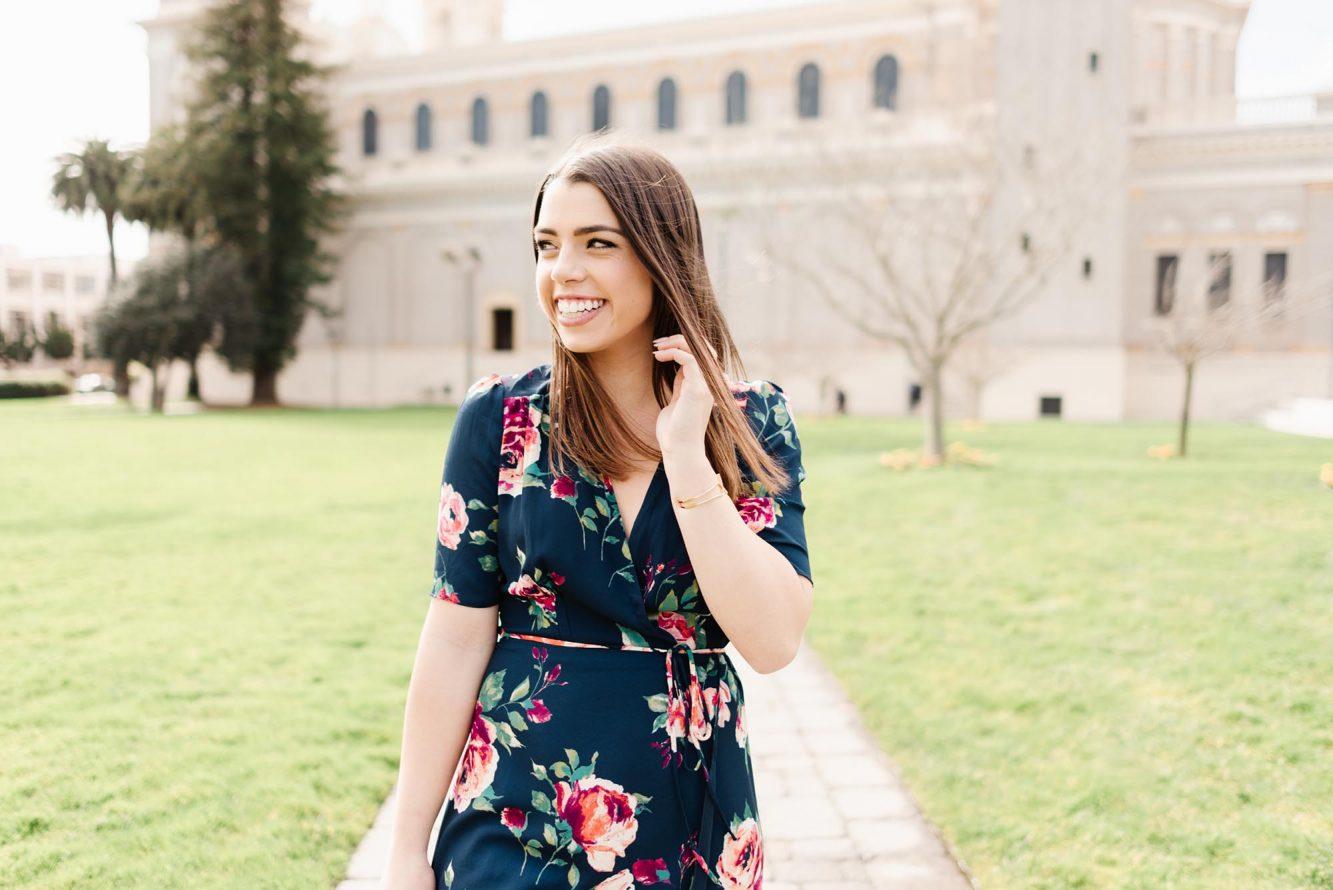 California senior grad photos